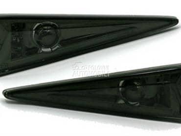 Crni bocni migavci Reno za Renault Espace, Grand Scenic, Megane ...