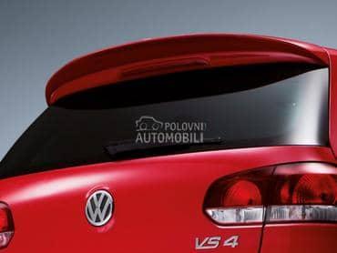 Spojler gepeka za Volkswagen Golf 6