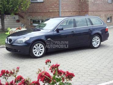 BMW 525 aut reg