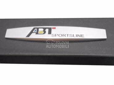 ABT metalni znak samolepljivi za Audi 90