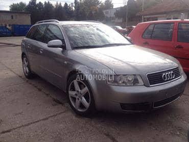 Delovi za Audi A4 od 2001. do 2004. god.