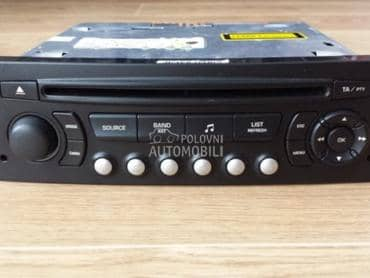 Fabrički CD player restajling za Citroen Berlingo, C-ELYSEE, C1 ...