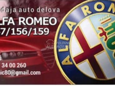 Branik za Alfa Romeo 147, 156, 159 od 2001. do 2010. god.