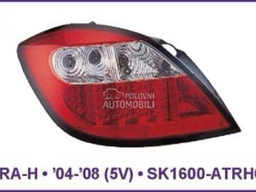 Stop svetla  5V Led Red za Opel Astra H od 2004. do 2008. god.