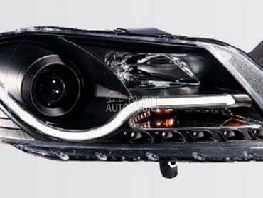 Farovi  Black  MOTOR za Volkswagen Passat B1, Passat B2, Passat B3 ... od 2011. do 2015. god.
