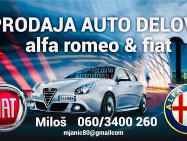 Kompresor klime za Alfa Romeo 147, 156, 159 od 2001. do 2010. god.