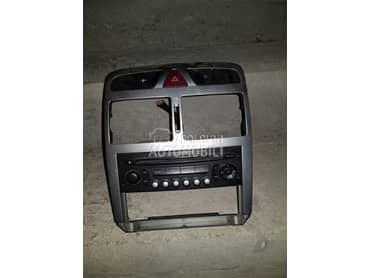 Fabricki radio za Peugeot 206, 307, 406 ...
