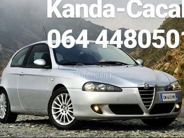 Usisna grana bez leptira za Alfa Romeo 147, 156, 156 Crosswagon ... od 2004. do 2008. god.