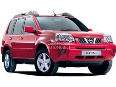 Motor i delovi za Nissan X-Trail od 2001. do 2007. god.