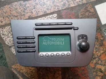 ORIGINAL SEAT RADIO za Seat Altea, Altea XL, Toledo od 2004. do 2012. god.