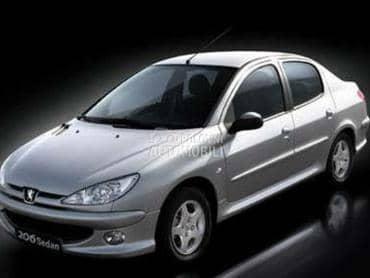 Torzija za Peugeot 206 od 2002. do 2009. god.