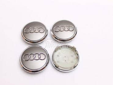 Cepovi za alu felne sivi za Audi
