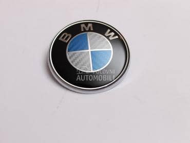 Znak karbon 82 mm za BMW