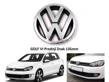 Prednji znak za Volkswagen Golf 6
