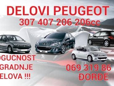 Branici za Peugeot 407 od 2005. do 2008. god.
