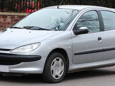 Peugeot 206 - kompletan auto u delovima