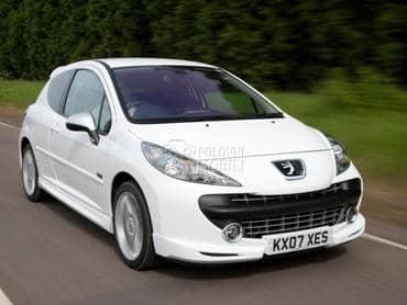 Peugeot 207 - kompletan auto u delovima
