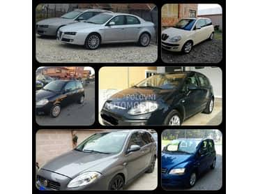 Hladnjaci za Alfa Romeo 147, 156, 159 od 2000. do 2009. god.