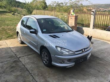 vrata za pezo 206 za Peugeot 206 od 2000. do 2006. god.