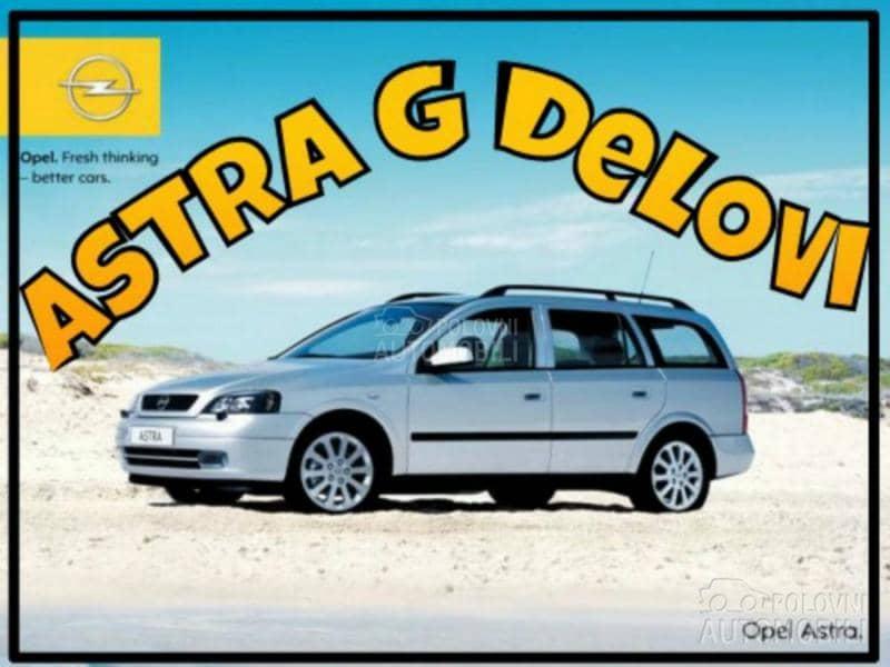 Opel Astra - kompletan auto u delovima
