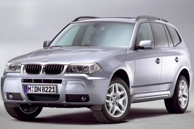 Delovi za BMW X3 2010. god.