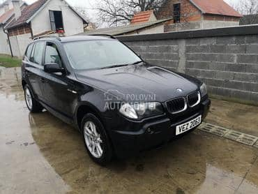 BMW X3 2006. god. - kompletan auto u delovima