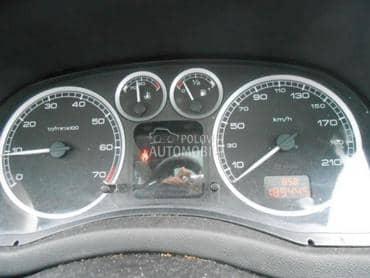 Instrument tabla za Peugeot 206, 307, 308 ...