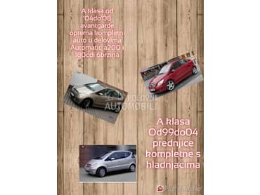 Turbina za Mercedes Benz B 150, B 160, B 170 ... od 2004. do 2011. god.