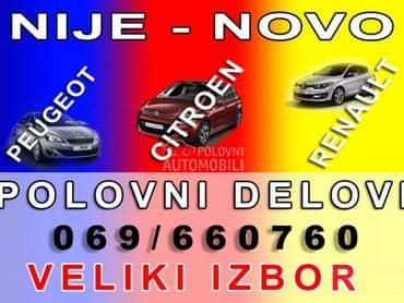 Renault Clio 2006. god. - kompletan auto u delovima