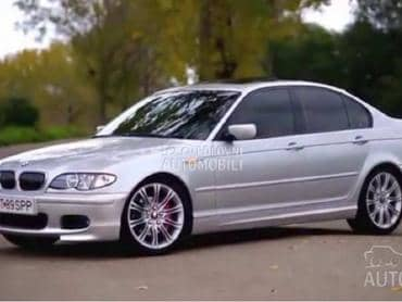 stranica za BMW Serija 3 od 2001. do 2004. god.
