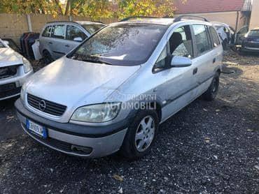 Opel Zafira 2002. god. - kompletan auto u delovima