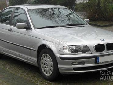Menjač i delovi za BMW Serija 3 od 1998. do 2012. god.