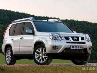 Motor i delovi za Nissan X-Trail od 2001. do 2013. god.