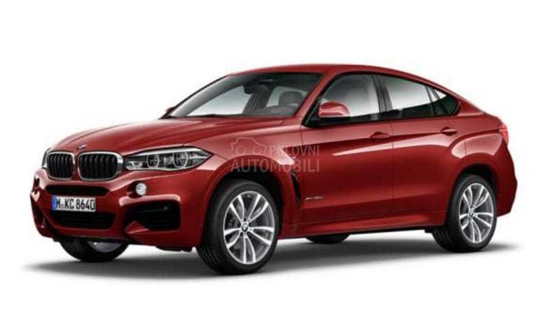 BMW X6 xDrive 30d M paket
