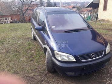 Opel Zafira 2.0d