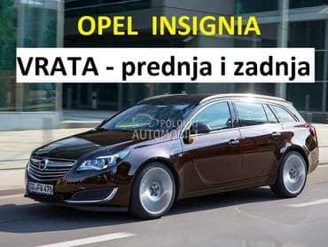 Vrata prednja i zadnja za Opel Insignia od 2009. do 2017. god.