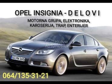 Opel Insignia 2011. god. - kompletan auto u delovima