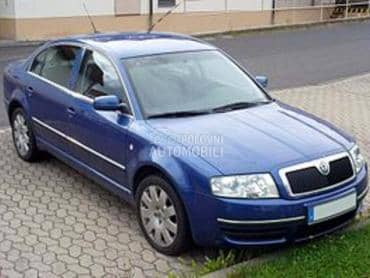 Delovi za Škoda Superb od 2001. do 2008. god.