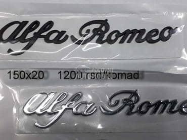 auto oznaka za Alfa Romeo 33, 75, 90 ...