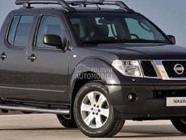 Nissan Navara 2005. god. - kompletan auto u delovima