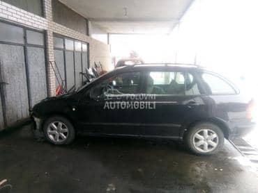 Škoda Fabia - kompletan auto u delovima