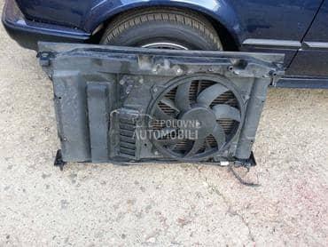 Prsa ventilator i hladnjak za Peugeot 206, 307, 308