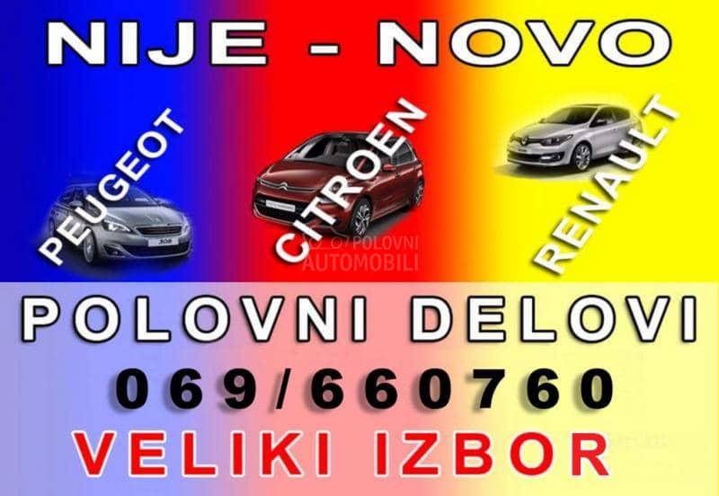 Renault Megane 2009. god. - kompletan auto u delovima