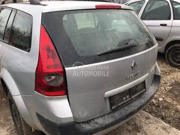Spojler petih vrata za Renault Megane
