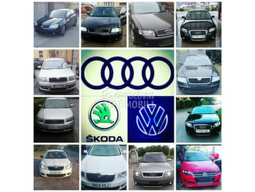 KLIMA DIZNE MENJACI TURBINE za Audi A3, A4, A6 ... od 2001. do 2012. god.
