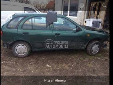 KOMPLETAN AUTO U DELOVIMA N15 za Nissan Almera od 1995. do 2000. god.