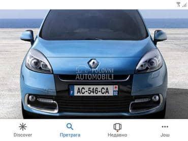 Haube za Renault Scenic od 2001. do 2015. god.
