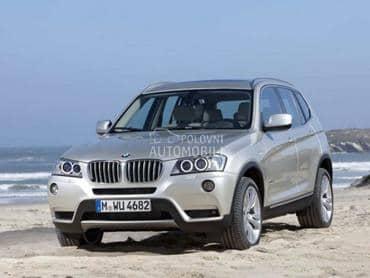 Prednji branik za BMW X3 od 2011. do 2014. god.