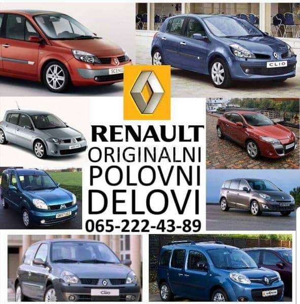 Delovi za Renault Kangoo