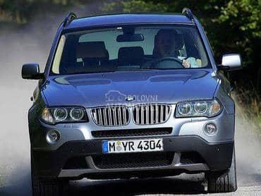 BMW X3 2008. god. -  kompletan auto u delovima